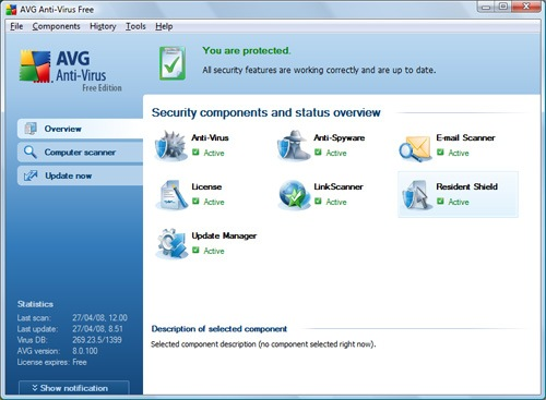 AVG Free Edition 2012 fo Linux 2012.1793 full