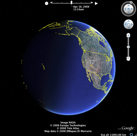 The google earth team release today the latest version of google earth