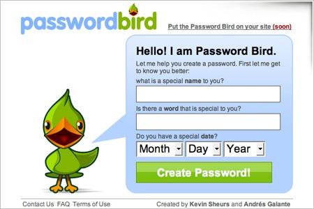 passwordbird