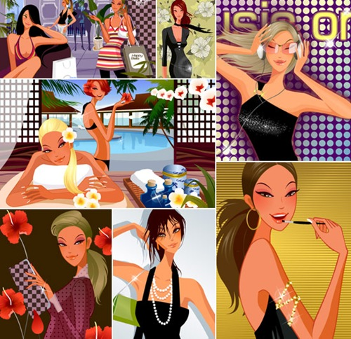 lifestyle-Vector-Girls-free