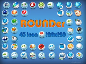 rounder_png_icons