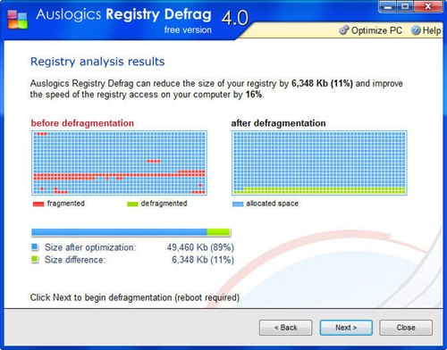 Auslogics Registry Defrag-hard-disk-recover-data-software