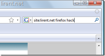 fireofox-search-hack
