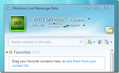 Windows Live Messenger 9 - Download-free-new 2009