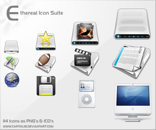 Ethereal Icons for free