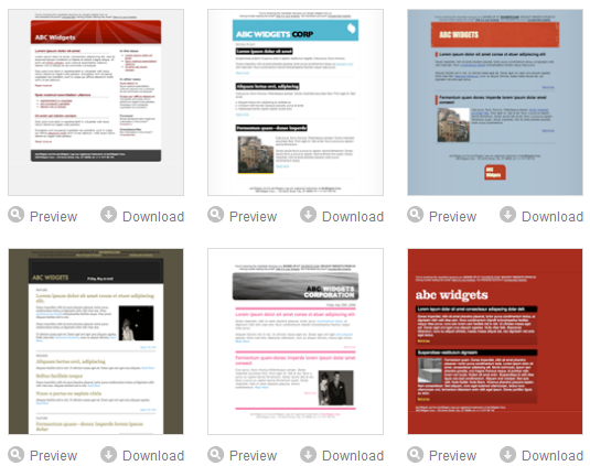 HTML email templates over Campaignmonitor More than 30 templates G6fRSuS6