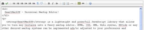 javascript-markup-editor