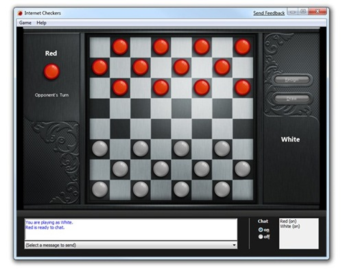 checkers online computer