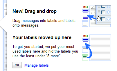 dragdrop gmail label