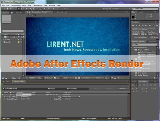Adobe-After-Effects-render