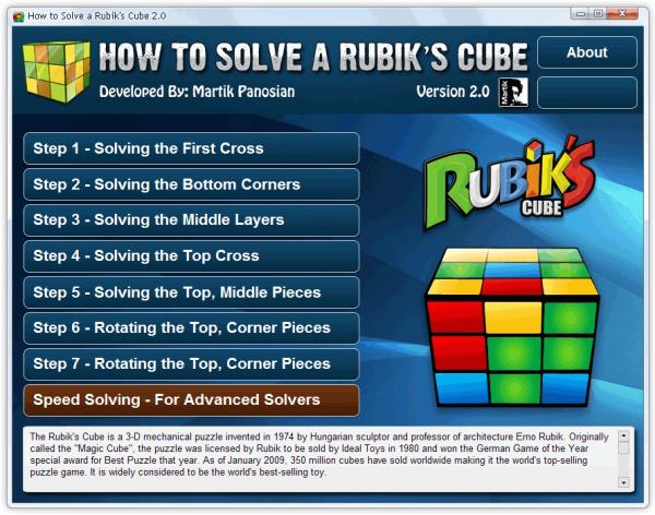 Rubiks Cube Solver Main