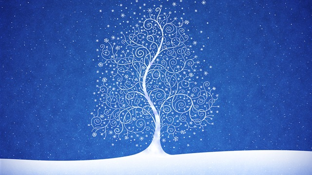 Snow Flakes Wallpaper