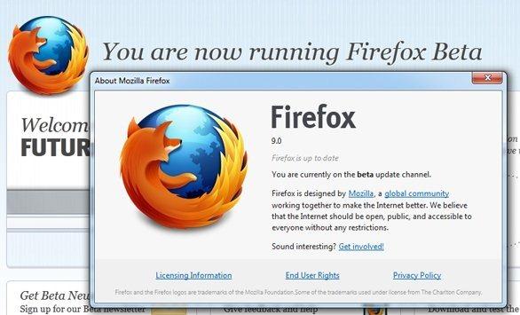 Firefox 9-Beta3 - Mozilla
