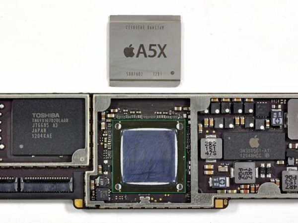 Disassembly the New iPad CPU