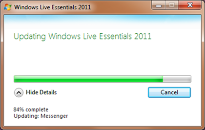 Windows Live Essential 2011