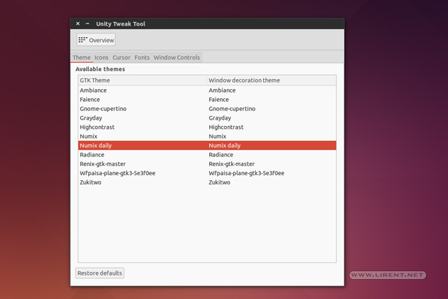 ubuntu-themes-tweak-tool